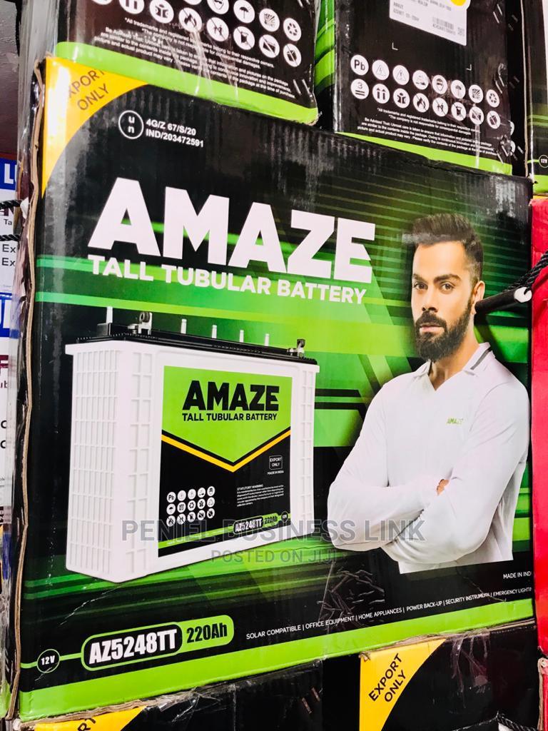 Amaze 220ah 12v Tubular Battery