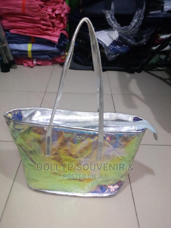 Silver Rainbow Topmodel Bag