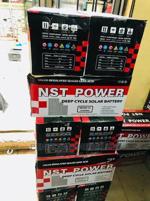 NST POWER 200ah 12v Battery   Solar Energy for sale in Lagos State, Ojo