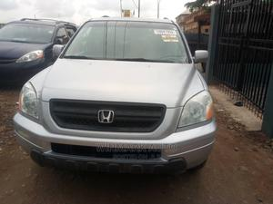 Honda Pilot 2005 EX 4x4 (3.5L 6cyl 5A) Silver | Cars for sale in Lagos State, Oshodi