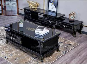Cumfam Royal Design Luxury TV Stand Center Table   Furniture for sale in Lagos State, Ikeja