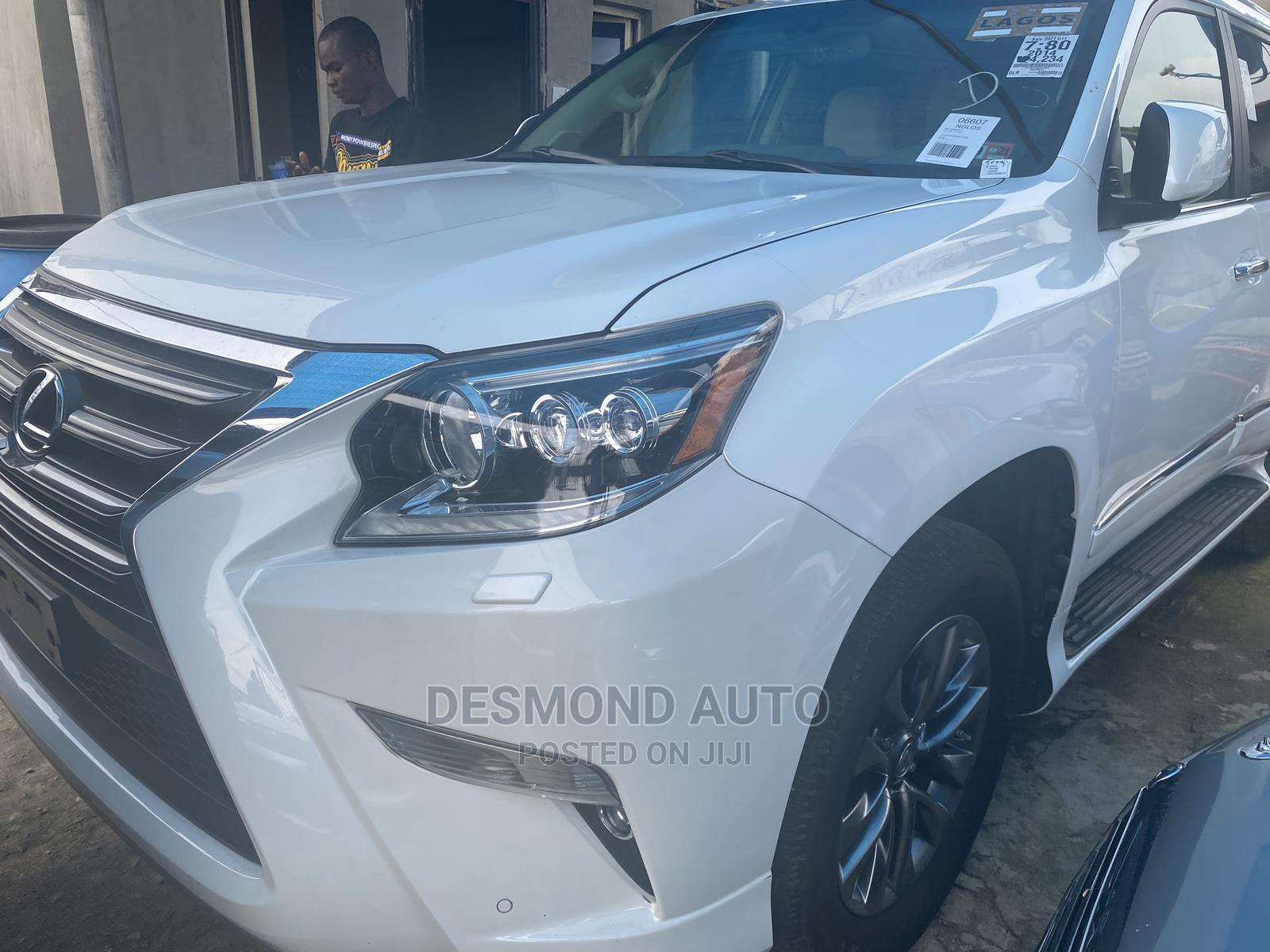 Lexus GX 2015 460 Luxury White