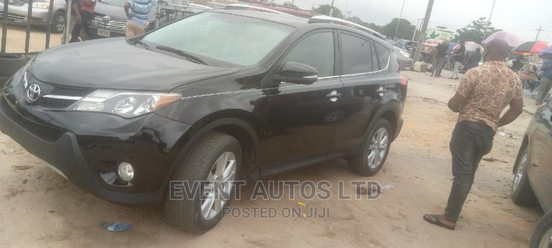 Toyota RAV4 2015 Black | Cars for sale in Surulere, Lagos State, Nigeria