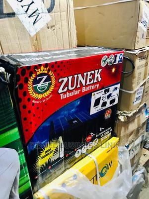 Zunek 220ah 12v Tubular Battery | Solar Energy for sale in Lagos State, Ojo