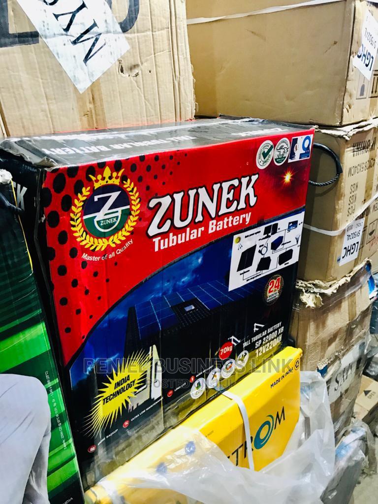 Zunek 220ah 12v Tubular Battery