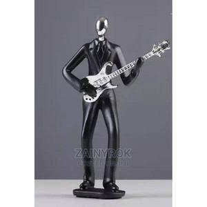 Music Man Guitar Statue Black Figurine Crafts Decor | Home Accessories for sale in Lagos State, Alimosho