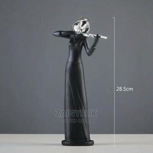 Violin Woman Statue Black Figurine Crafts Decor | Home Accessories for sale in Lagos State, Alimosho
