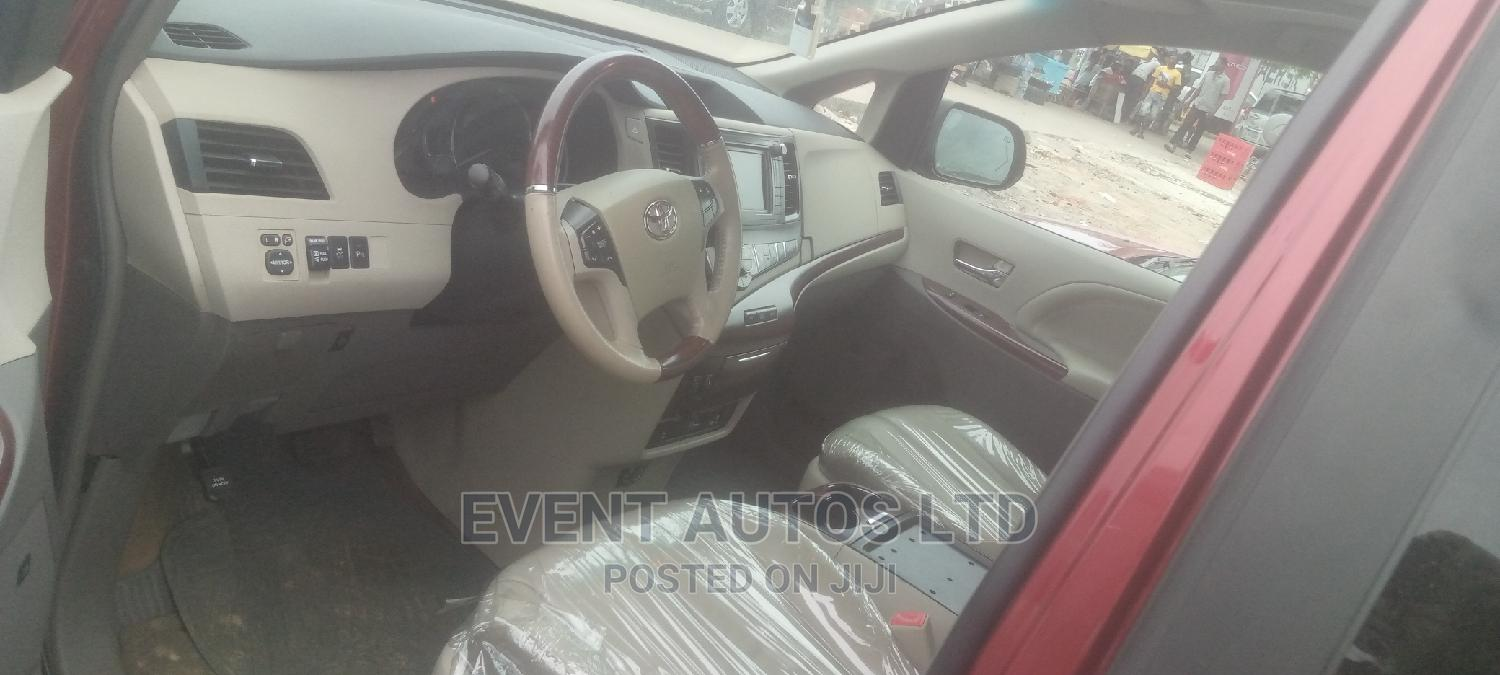 Toyota Sienna 2012 Red   Cars for sale in Amuwo-Odofin, Lagos State, Nigeria