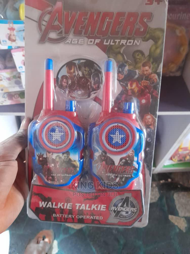 Archive: Avengers Walkie Talkie for Kids