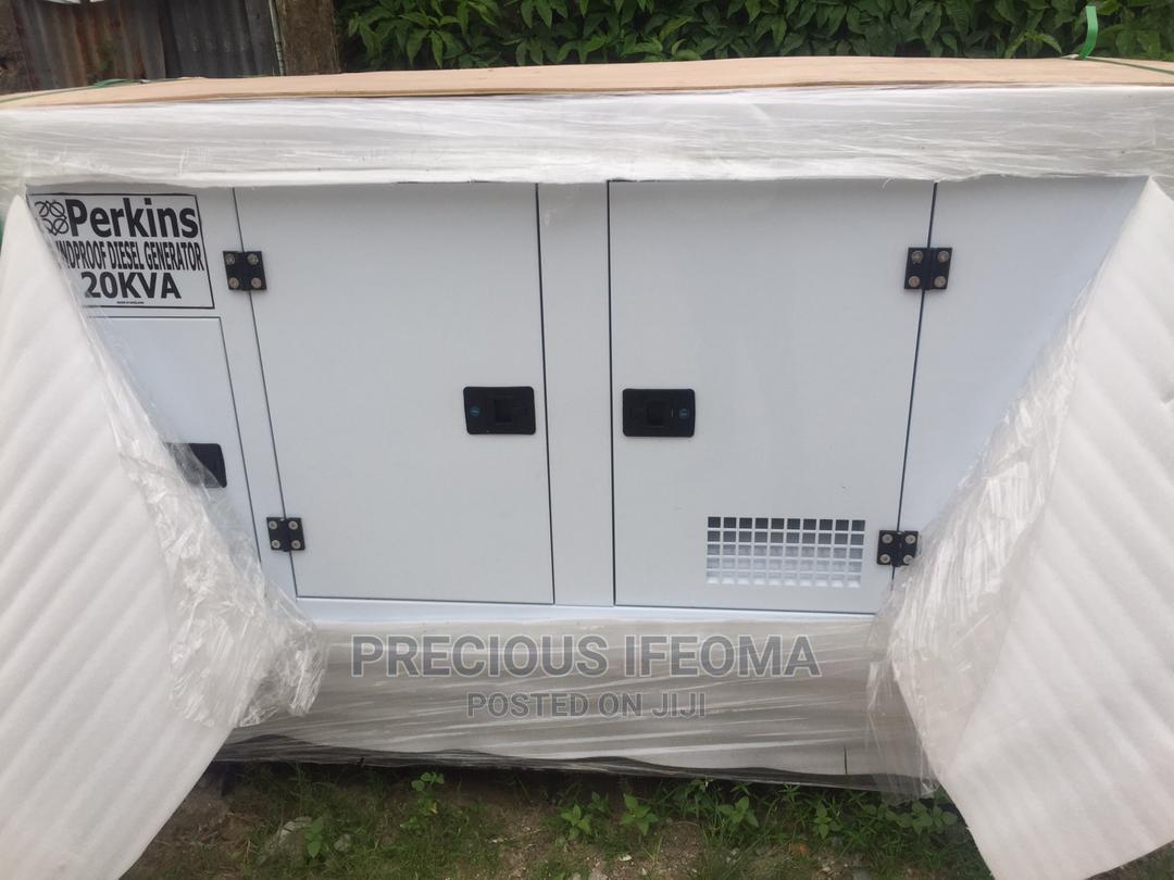 Archive: 20kva Perkins Soundproof Generator