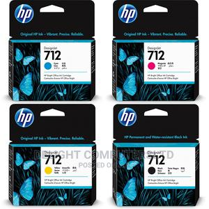 HP 712 (3ED71A) Ink Cartridge Black | Accessories & Supplies for Electronics for sale in Lagos State, Ikeja