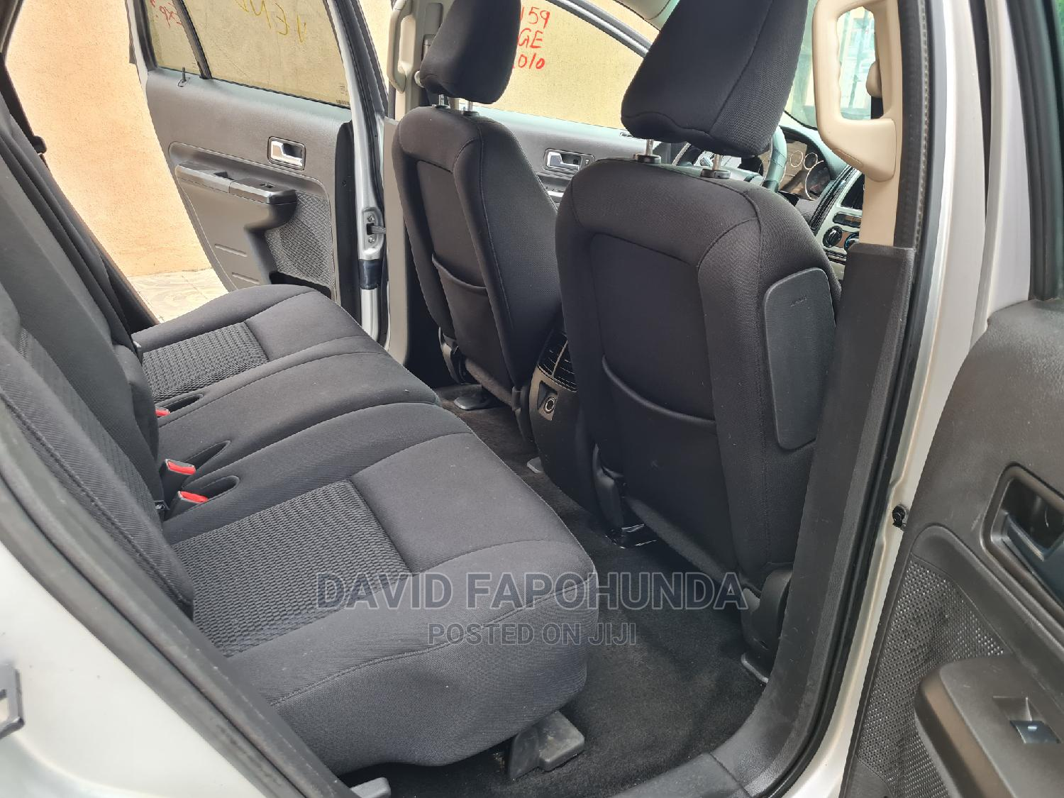 Ford Edge 2010 Silver | Cars for sale in Ikeja, Lagos State, Nigeria