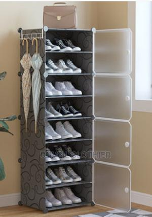 8-layers Plastic Large-capacity Shoe Cabinet Storage 8- . | Furniture for sale in Lagos State, Ikeja