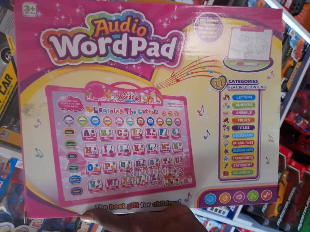 Archive: Audio Learning Wordpad for Kids