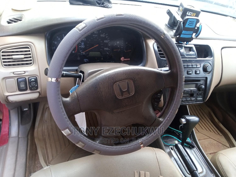 Archive: Honda Accord 2002 SE Automatic Red