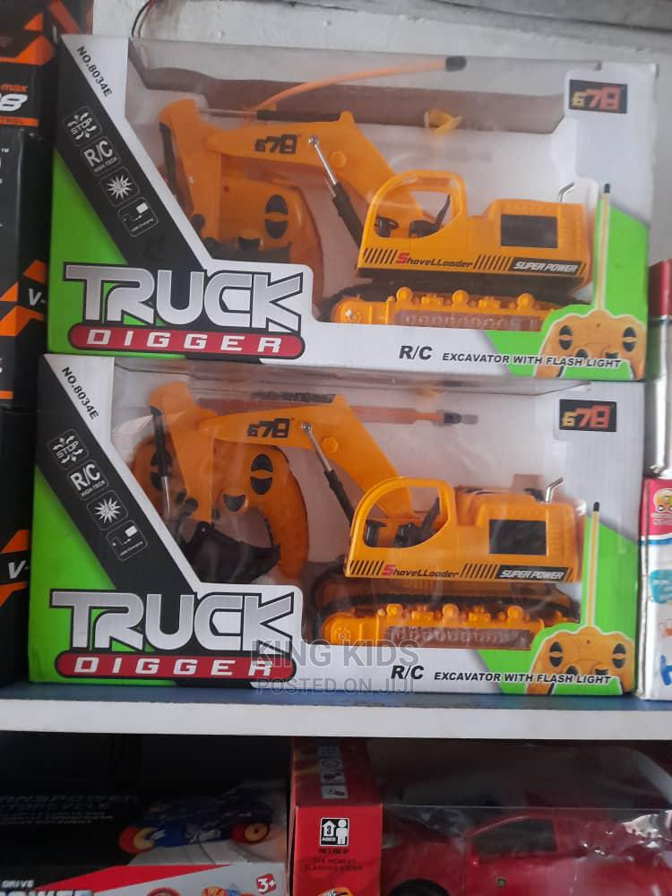 Archive: Truck Digger Rc Excavator With Light Remote Control for Kids