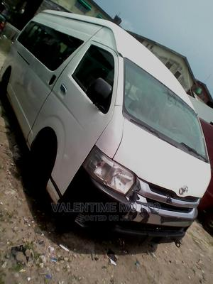 Toyota Hiace 2015 1.5 DX 2WD White | Buses & Microbuses for sale in Lagos State, Amuwo-Odofin