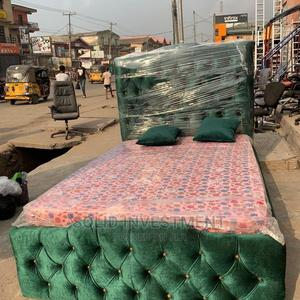 4/6 Padded Upholstery Bed Frame | Furniture for sale in Lagos State, Ajah