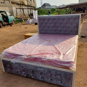 4/6 Upholstery Padded Bedframe | Furniture for sale in Lagos State, Lekki