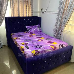 6/6 Upholstery Bed Frame | Furniture for sale in Lagos State, Lekki