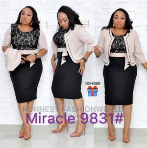Elegant Classic Trendy Female Turkey 2 Piece Gown and Jacket | Clothing for sale in Lagos State, Ikeja
