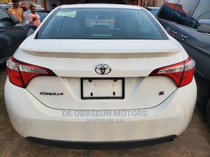 Toyota Corolla 2015 White | Cars for sale in Lagos State, Alimosho