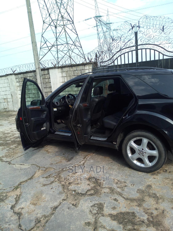Mercedes-Benz M Class 2008 Black   Cars for sale in Warri, Delta State, Nigeria