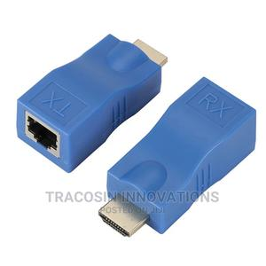 HDMI Extender RJ45 Ports LAN Network 4K HDMI Extension 30m   Accessories & Supplies for Electronics for sale in Lagos State, Yaba