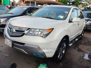 Acura MDX 2008 SUV 4dr AWD (3.7 6cyl 5A) White | Cars for sale in Lagos State, Apapa