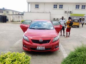 Toyota Corolla 2010 Red | Cars for sale in Lagos State, Isolo