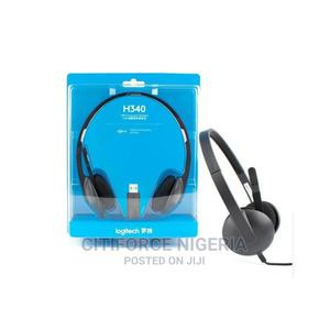 Logitech Logitech H340 USB Headset With Noise-cancelling Mic   Headphones for sale in Lagos State, Ikeja