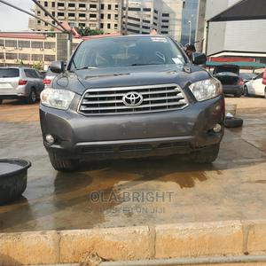 Toyota Highlander 2009 4x4 Gray   Cars for sale in Abuja (FCT) State, Central Business District