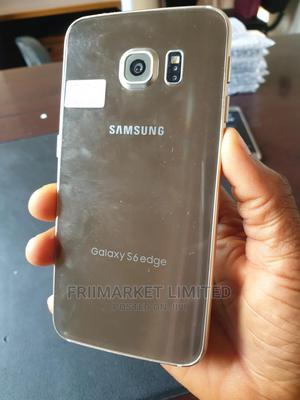 Samsung Galaxy S6 edge 32 GB Gold | Mobile Phones for sale in Edo State, Egor