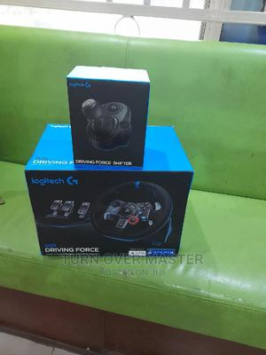 Logitech G29 Driving Force Racing Wheel and the Gear Shifter | Video Game Consoles for sale in Lagos State, Ikeja