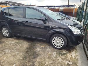 Toyota Corolla 2007 Verso 1.8 Luna Automatic Black | Cars for sale in Lagos State, Surulere