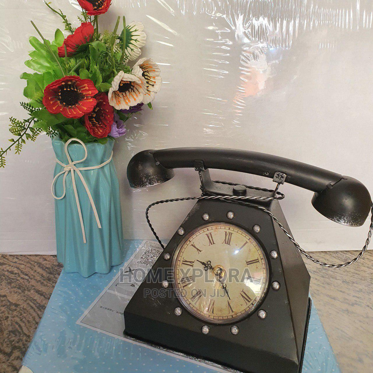 Vintage Telephone Decorative Figurine