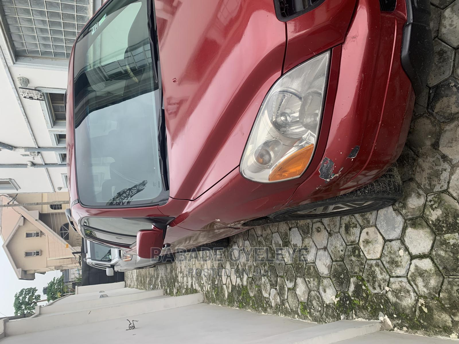 Archive: Honda Pilot 2003 EX 4x4 (3.5L 6cyl 5A) Red