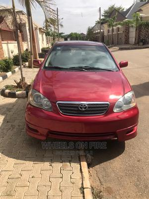 Toyota Corolla 2006 Red | Cars for sale in Abuja (FCT) State, Lokogoma