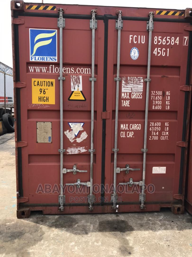 High Cube Standard Dry 40ft Container's For Sale