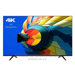 Hisense Uhd 4k Black Smart 58 Inches Tv With 3hdmi,2 Usb   TV & DVD Equipment for sale in Lagos State, Ojo