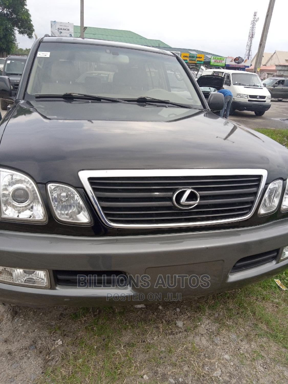 Archive: Lexus GX 2003 470 Black