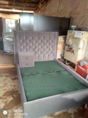 4by6bedframe With One Side Bed | Furniture for sale in Abuja (FCT) State, Lugbe District