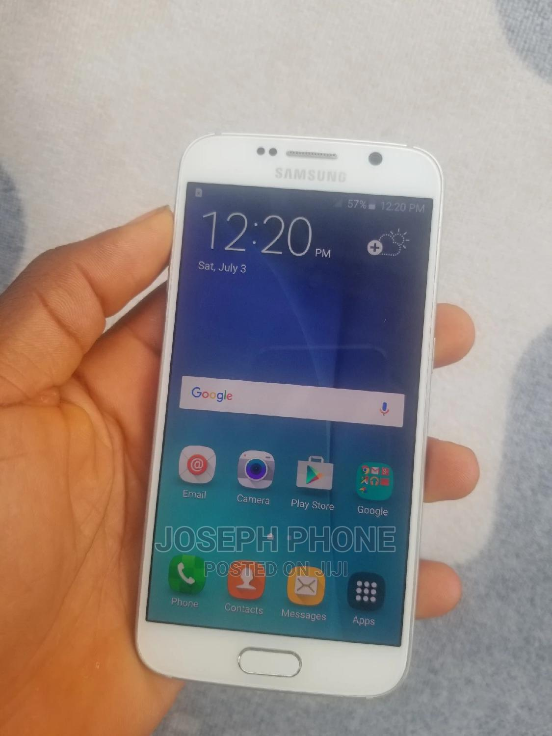 Samsung Galaxy S6 32 GB White | Mobile Phones for sale in Ajah, Lagos State, Nigeria