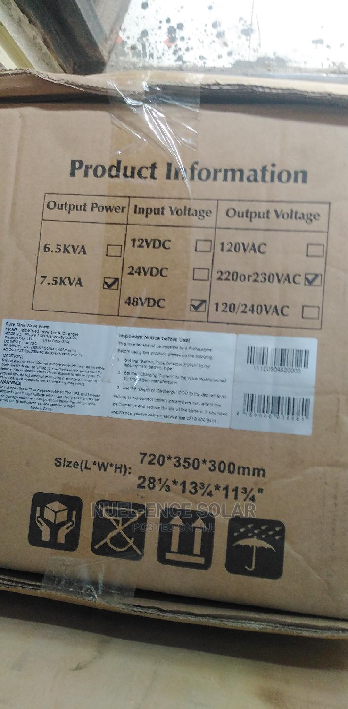 7.5kva 48v Prag Pure Sine Wave Inverter Charger   Solar Energy for sale in Ojo, Lagos State, Nigeria