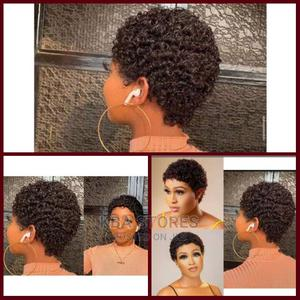 Curly Wig -Complete Human Hair | Hair Beauty for sale in Lagos State, Ojo