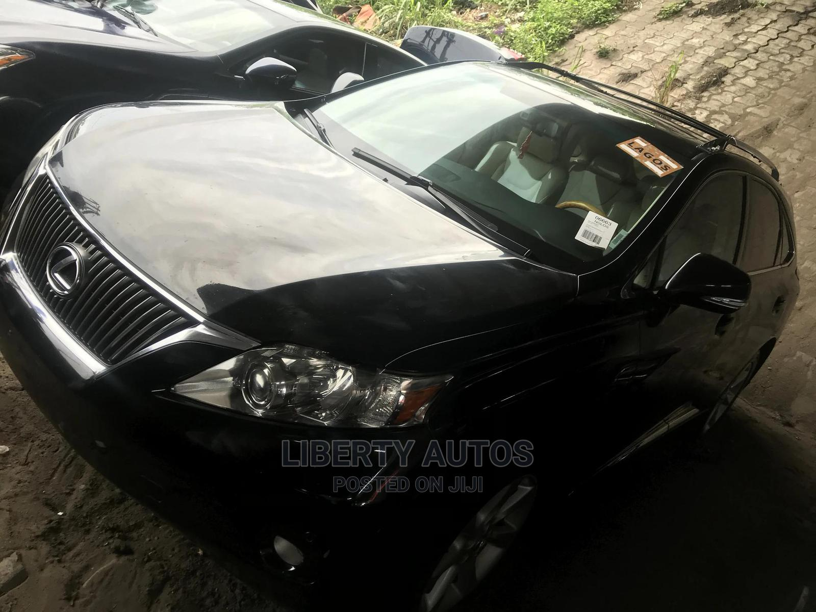 Lexus RX 2010 350 Black   Cars for sale in Apapa, Lagos State, Nigeria