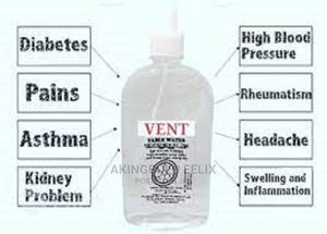 Vent Table Water -Treated With Bio Disc | Vitamins & Supplements for sale in Lagos State, Alimosho