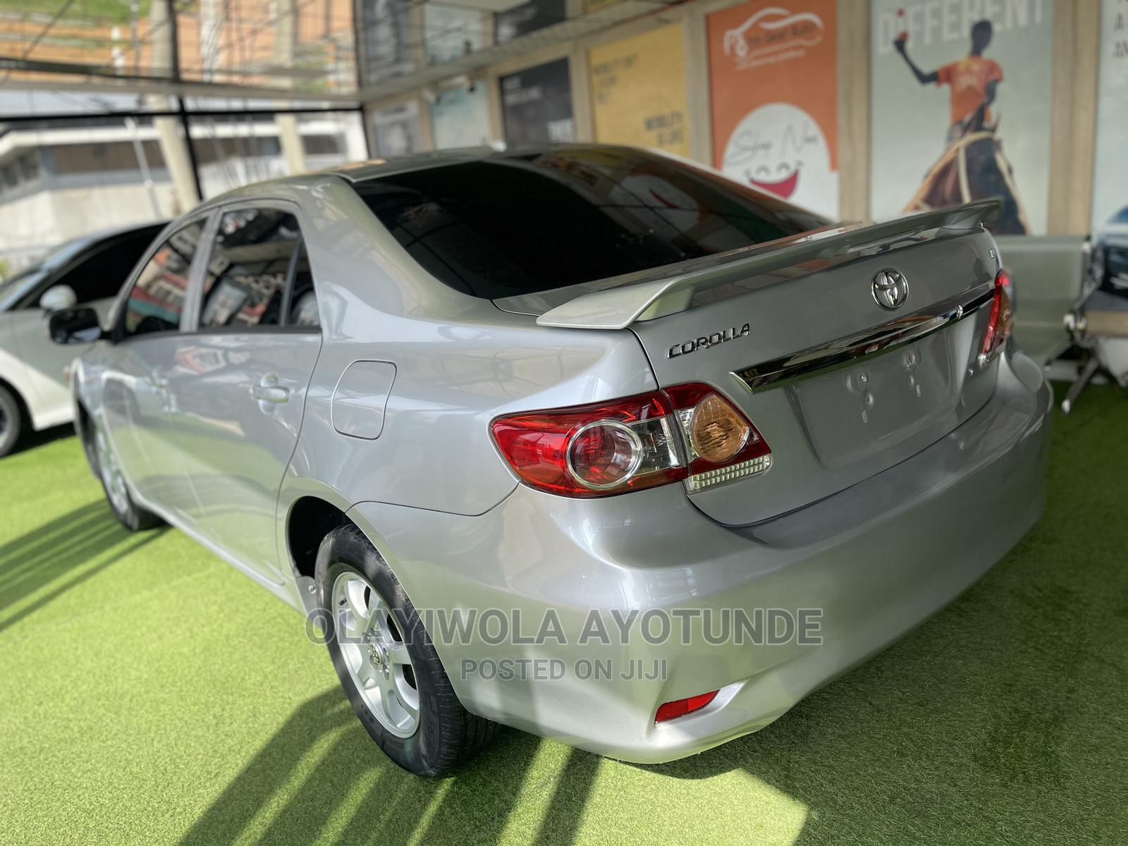 Toyota Corolla 2009 Silver   Cars for sale in Central Business District, Abuja (FCT) State, Nigeria