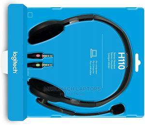 Logitech Stereo Headset H110 | Headphones for sale in Lagos State, Ikeja