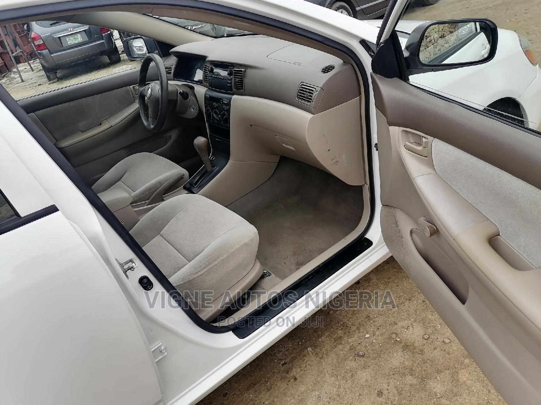 Toyota Corolla 2003 Sedan Automatic White | Cars for sale in Uyo, Akwa Ibom State, Nigeria